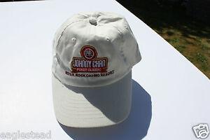 Ball Cap Hat - Johnny Chan Poker Classic River Rock Casino Richmond BC  (H1173)