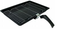 HOTPOINT Oven Cooker Grill Pan With Rack & Detachable Handle Genuine Part