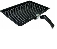 Enamel Grill Pan Tray Rack Grid Handle for RANGEMASTER Oven Cooker