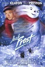 JACK FROST Movie POSTER 27x40 Michael Keaton Kelly Preston Joseph Cross Mark