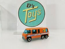 Mattel Hot Wheels Orange GMC Motor Home 1976 Hong Kong