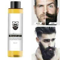 30ml Mokeru 100% Organic Beard Oil Hair loss Products Spray Beard Growth Oi O0U5