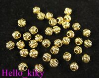 250pcs Antiqued gold plt Lantern spacer beads A471