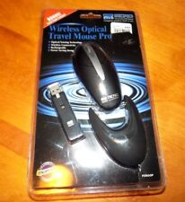MICRO WIRELESS OPTICAL TRAVEL MOUSE PRO RF Receiver PD920P PACKAGED NEW