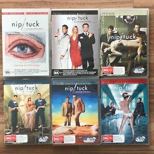 NIP/TUCK Complete Series Season 1, 2, 3, 4, 5 & 6. Julian McMahon