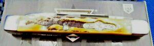 "Bear & Son Custom Heritage 2-7/8"" Little Doc Genuine India Stag Horn Handle - BC"