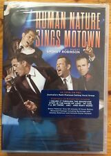 Human Nature Sings Motown with Special Guest Smokey Robinson (UNOPENED DVD 2012)
