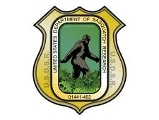 United States Department of Sasquatch Research (Bumper Sticker)