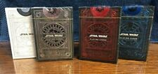 4 DECKS Star Wars Rise of Skywalker Standard & Special Edition playing cards