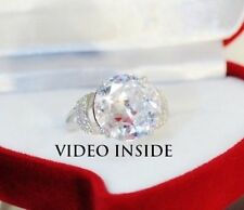 Solitaire with Accents Excellent Round Fine Diamond Rings