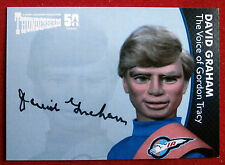 THUNDERBIRDS 50 YEARS - David Graham (Gordon Tracy) Autograph Card - DG2