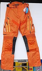 ONEMOREDAY Men Motorcycle Waterproof Breathable Cordura Pants - Size 30x32 - NWT