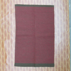 Afghan Area Rug Bohemian Bedroom rugs Hand Woven Wool Rug 3' x 5' Kilim Dhurrie