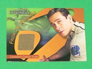 STAR TREK 40th Anniversary Enterprise ARCHIVES Costume Card C44 Charles Tucker!