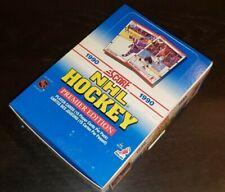 1990-91 Score Hockey Cards NHL Canadian Box 36 Factory Sealed Packs Brodeur RC