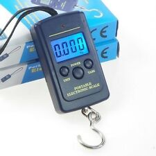 Hanging Scale Luggage Digital BackLight 40Kg /10g Fishing Pocket Weight Kg Lb OZ