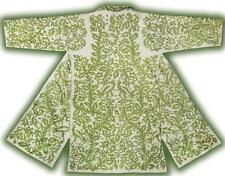 Vintage Gorgeous Uzbek Silk Embroidered Robe From Bukhara T957