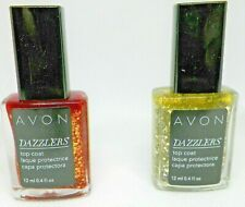 Avon Dazzlers Top Coat (2) Show Stopper Copper & Disco Ball