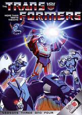 Transformers: Seasons Three and Four (DVD, 2014, 4-Disc Set)