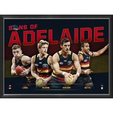 Adelaide 2018 Sons of the AFL Official Licensed Limited Edition Print Framed