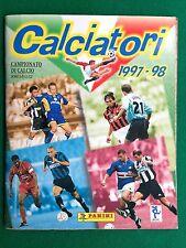 ALBUM Figurine Sticker CALCIATORI 1997/98 97/1998 Ed. PANINI , COMPLETO !!! 100%