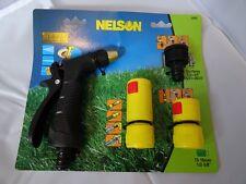 PISTOLA a spruzzo da giardino in metallo e tubo allegati Ventilatore a getto e Spray Ugello FO 2262E