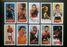 BOXING - Set of 10 Score PRIZE FIGHTERS UK trade cards ALI FRAZIER DURAN QUARRY