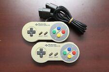 Nintendo Super Famicom controllers 2pc SHVC-005 official SFC gamepad US Seller