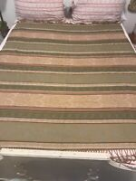 Beautiful Vintage Throw, Wrap, Blanket Or Piano Cover * Calzeat Of Scotland *