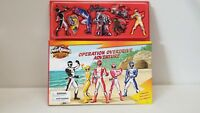 Power Rangers OPERATION OVERDRIVE ADVENTURE MAGNETIC BOOK w/8 magnets morpher