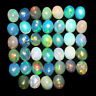 Natural Opal Ethiopia 39 Pcs 5mm/4mm Flashy Top Quality Gemstones Wholesale Lot