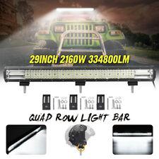 30 Inch 1160W LED Work Light Bar Spot Flood Combo Truck OFFROAD SUV 4WD ATV Lamp