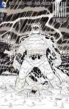 Dark Knight Iii The Master Race 1 Cooke Graham Crackers Sketch Variant Nm