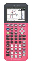 TEXAS INSTRUMENTS TI-84 PLUS CE COLOR GRAPHING CALCULATOR BRAND NEW SEALED PINK