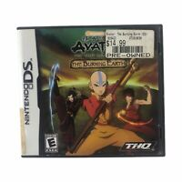 Avatar: The Last Airbender The Burning Earth (Nintendo DS 2007) Case & Cartridge