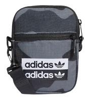 Adidas Originals Festival Crossbody Bag Camo Grey Black Coachella EI1898