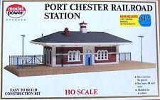 Ho Scale Model Power #542 Port Chester Railroad Station Plus Signal Bridge Kit