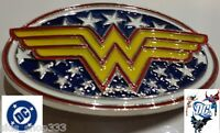 DC Comics WONDER WOMAN Logo BELT BUCKLE Collectible Cosplay gift Justice league