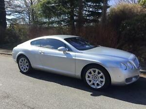 2004 04 reg,Bentley Continental 6.0 auto gt coupe