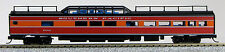 N Budd Passenger P-S Mid-Train Dome Car Southern Pacific (Daylight) (1-041541)
