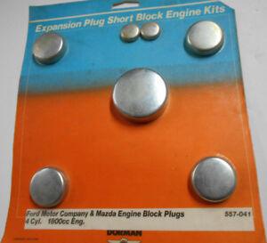 Dorman Engine Block Plug Kit for 1972-81 Ford 110 121 Eng. & Mazda 1300cc 1800cc