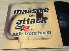 """MASSIVE ATTACK - SAFE FROM HARM 12"""" MAXI UK WILD BUNCH 91 - TRIP HOP"""