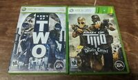 Army of Two 1 Original + The Devil's Cartel LOT BUNDLE PACK