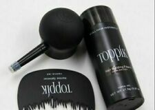 TOPPIK Set Hair Building Fibers 27.5g + SPRAY APPLICATOR Pump + Optimizer Comb..
