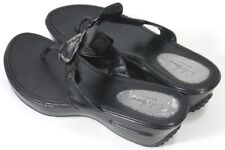 Cole Haan Nik Air Women's $90 Wedge Sandals G Series Size 9.5 Leather Black