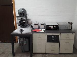 Carl Zeiss Ultraphot III Microscope w/ Accessories Antique Microscopy