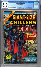 GIANT SIZE CHILLERS #1 CGC 8.0 WHITE - VF 1st LILITH DRACULA'S DAUGHTER