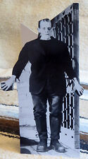 "Boris Karloff as Frankenstein Movie Figure Tabletop Display Standee 10"" Tall"