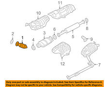 KIA OEM 09-10 Optima 2.4L-L4 Exhaust System-Front Pipe 286102G210