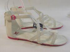 Summer NEW  white/pink  WOMEN SHOES ROMAN GLADIATOR  sandal   SIZE  10 p